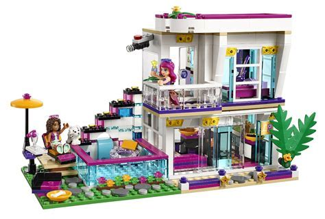 Shopping For LEGO Friends Livi's Pop Star House 41135