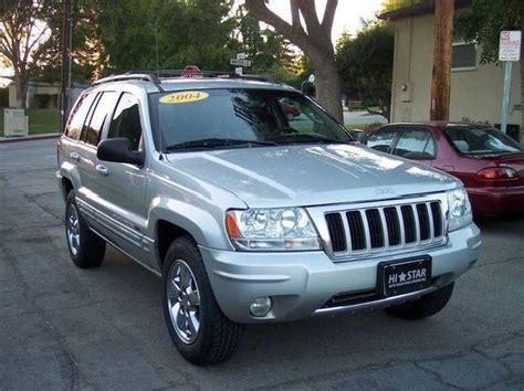 silver jeep grand cherokee 2004 jeep grand cherokee limited automatic 2004 california