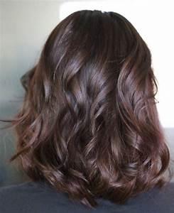 Couleur Cheveux Marron Chocolat : cheveux chatain noisette latest nuance chaude et profonde ~ Melissatoandfro.com Idées de Décoration
