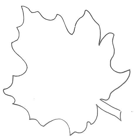 large leaf template glenda s world leaf templates
