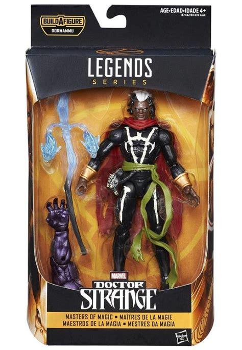 juguetes marvel legends de doctor strange listos