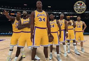 Some Players On The Nba 2k18 All Time Lakers Team Revealed