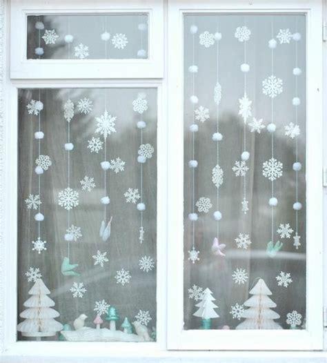 Weihnachtsdeko Fenster Schnee by Fensterdeko Weihnachten Weihnachtlich Dekorieren