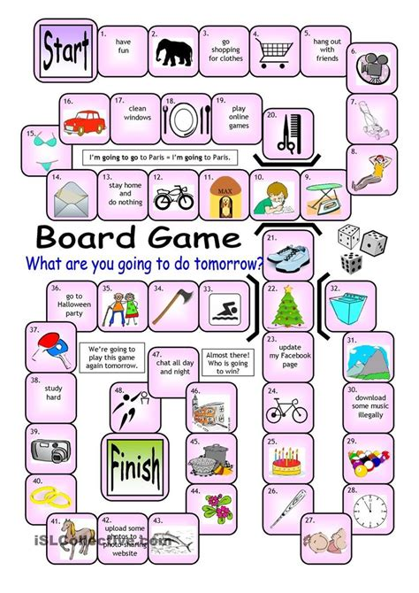 97 Best Board Games Images On Pinterest  Teaching English, Education And English Games
