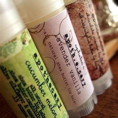ophelias apothecary lip balm label customer ideas