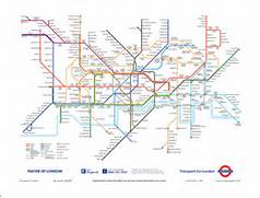 London Tube Map Poster...