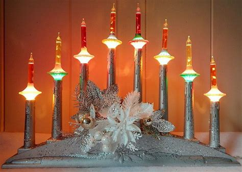 christmas lights bubble noma candelabra candles tree decorations electric saucer window retro antique xmas holiday decoration crafts