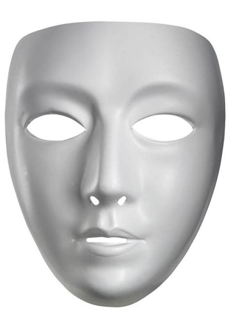 female blank mask blank masquerade masks  halloween