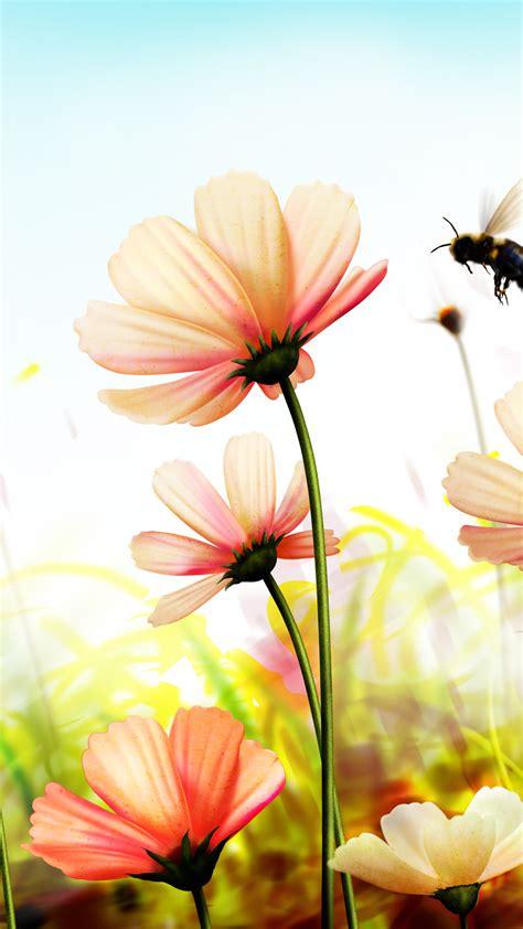 Wallpaper Flowers K K Wallpaper K Spring Art