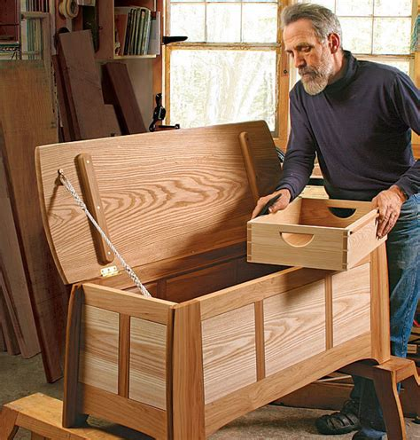 finish recipe hickory  ash blanket chest finewoodworking