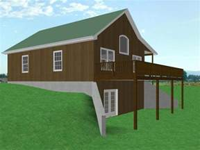 fresh small house floor plans with walkout basement exceptional hillside lake house plans alpine