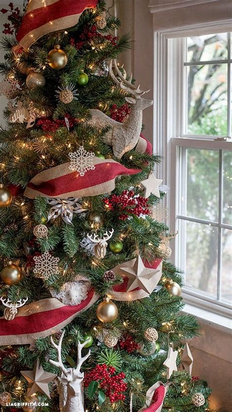 decorating tree with burlap ribbon how to decorate a tree and its origin