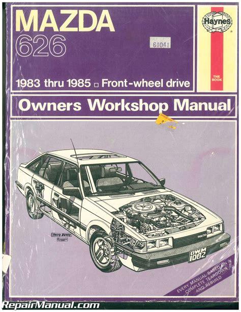 manual repair autos 1992 mazda 626 regenerative braking used haynes mazda 626 1983 1985 auto repair manual