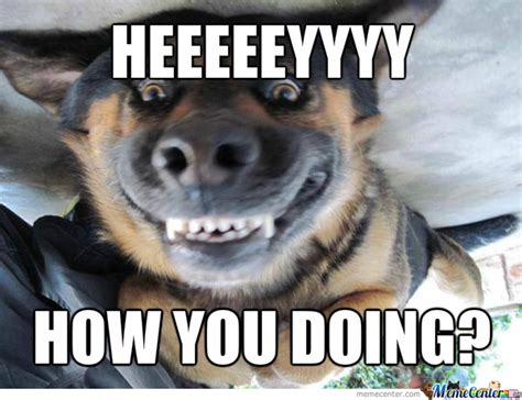 What You Doing Meme - image gallery how you doing meme