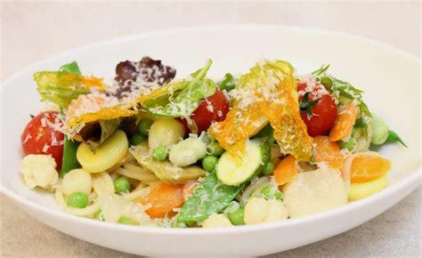 recette cuisine printemps recette de spaghetti légumes de printemps par alain ducasse
