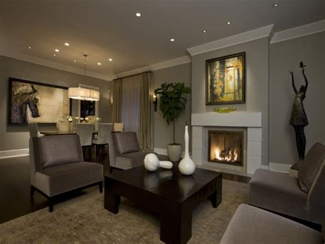 Transitional Design Living Room Choosing Paint Color