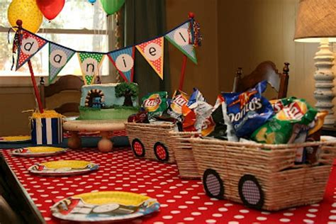 Train Party Ideas (collection)  Moms & Munchkins