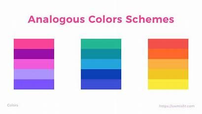 Colors Scheme Complementary Ui Practice Wheel Analog