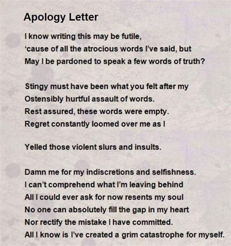 letter to my boyfriend who hurt me i m sorry poems for apology poems for