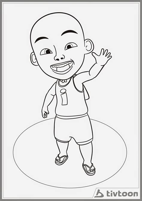 upin ipin coloring pages coloring home