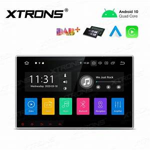 10 Inch Android 10 0 Single Din Multimedia Car Stereo