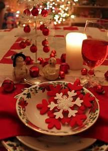 Table De Noel Traditionnelle : d coration de table de no l pour une atmosph re magique ~ Melissatoandfro.com Idées de Décoration