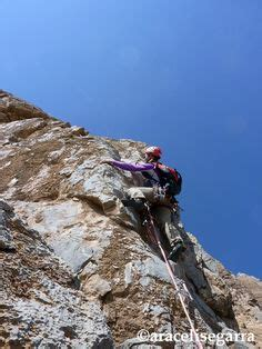 Araceli Segarra Climbing Thagia Marroc Woman