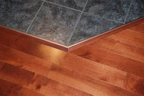 tile to hardwood custom trim handy owner