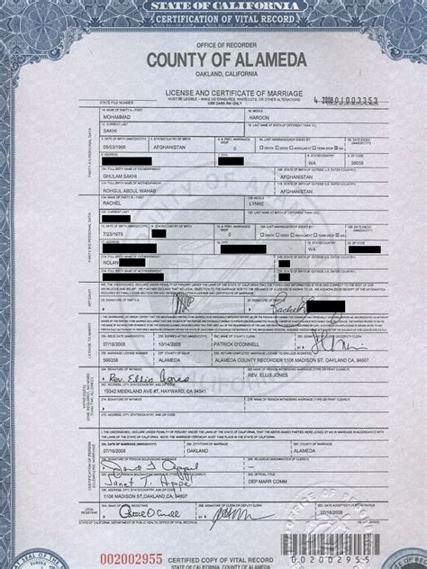 Alameda County Birth Certificate California Get Vital