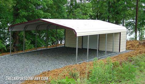 2 Bay Timber Framed Open Fronted Garage/carport
