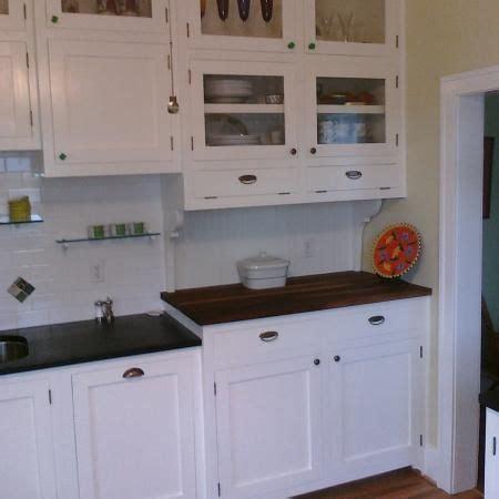 1920's Kitchen Cabinets Refurbished  Kitchens