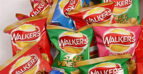 crisps walkers crisp favourite flavours glasgow