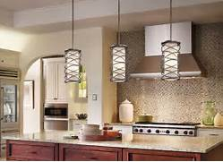 Photos Of Kitchens With Pendant Lights by When Hanging Pendant Lights Over A Kitchen Island Like These Kichler Corpor