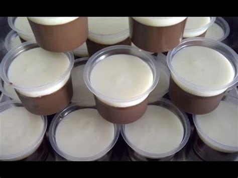resep membuat puding coklat fla youtube