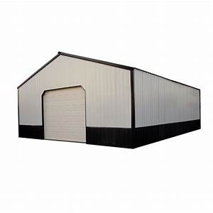 bridle 30 ft x 36 ft x 10 ft wood pole barn garage kit With 30 x 36 pole barn