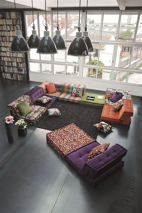 canape composable mah jong les 25 meilleures id 233 es de la cat 233 gorie canap 233 violet sur d 233 cor violet et chambres