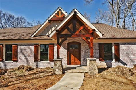 ranch to rustic traditional exterior other by benham builders
