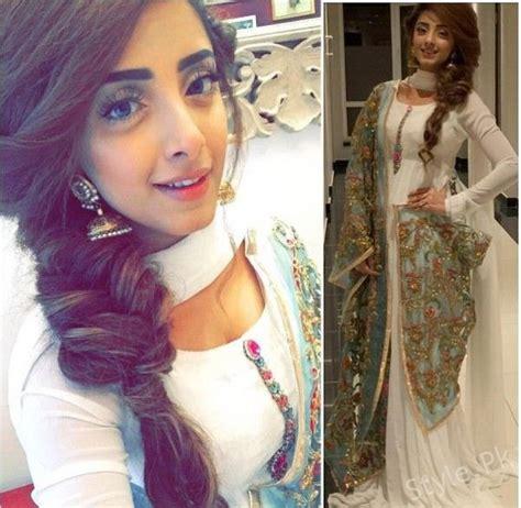 pakistani actress long hair pakistani actress hairstyle for long hair 2018 pictures photos