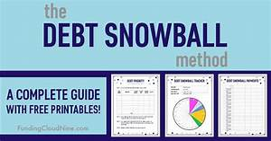Debt Free Charts The Debt Snowball Method A Complete Guide With Free
