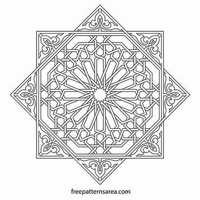 Islamic Geometric Ornament Pattern Patterns Vector Designs