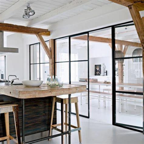 porte coulissante en verre pour cuisine les portes pliantes design en 44 photos