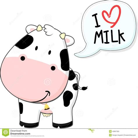 Cute Baby Cow Cartoon Stock Photos Images And Pictures