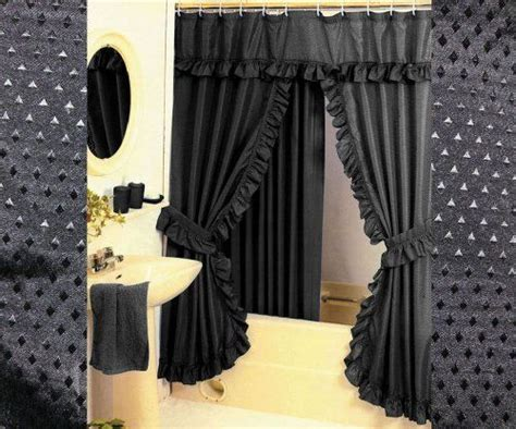 swag shower curtains for the home