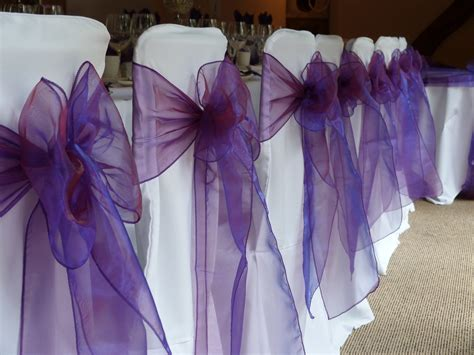 sash organza for chair cover for all banqueting chairs