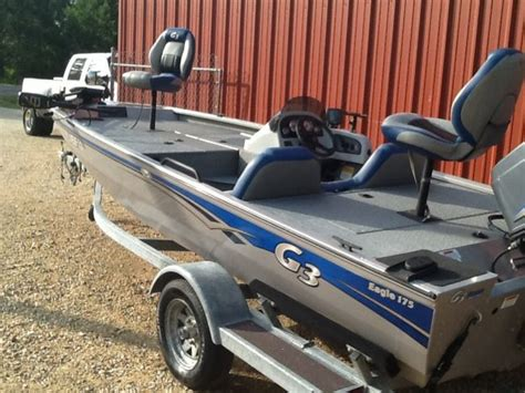 G3 Boats For Sale Louisiana by 2010 G3 Eagle 175 Bass Boat For Sale In Louisiana