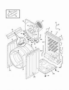 Frigidaire Faqg7072lw0 Dryer Parts