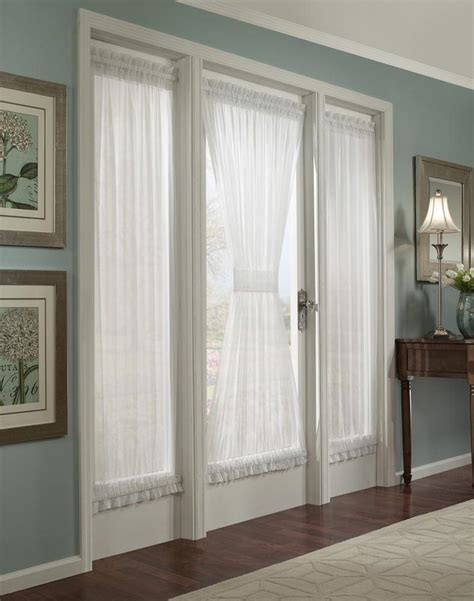 patio door curtain panel window treatments design ideas