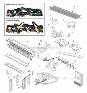 Majestic Bref42 Parts List And Diagram   Ereplacementparts Com