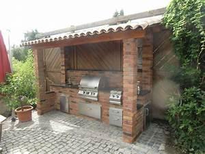 Outdoor Küche überdacht : die outdoor k che ein ratgeber ~ Orissabook.com Haus und Dekorationen