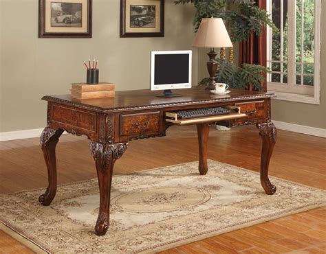 hand carved executive desk cd100 executive traditional office desk w hand carved